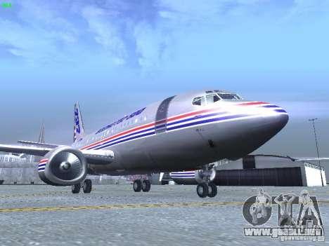 Boeing 737-500 para GTA San Andreas