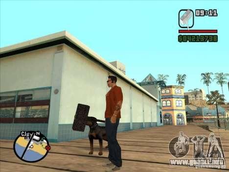 Martillo del WarCraft III para GTA San Andreas tercera pantalla
