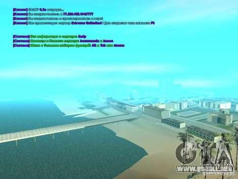 SA-MP 0.3x Client para GTA San Andreas tercera pantalla