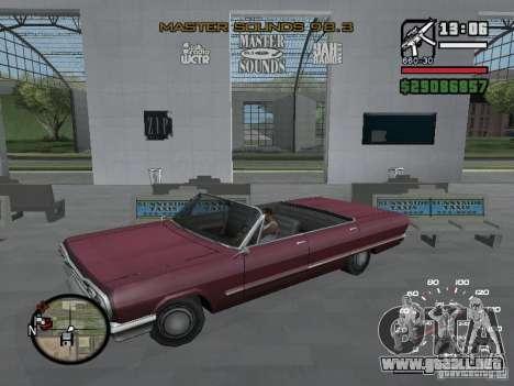 Radio arte (iconos de Radio en GTA IV) para GTA San Andreas