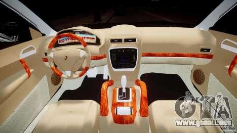 Porsche Cayenne 955 Turbo v1.0 para GTA 4 vista desde abajo