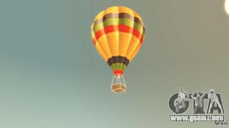 Balloon Tours original para GTA 4 Vista posterior izquierda
