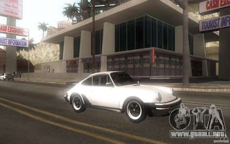 Porsche 911 Turbo 1982 para GTA San Andreas left