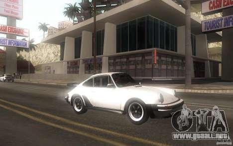 Porsche 911 Turbo 1982 para GTA San Andreas left