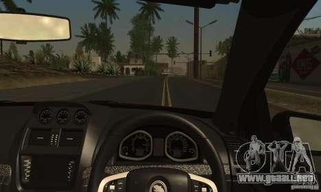 Holden HSV GTS para vista lateral GTA San Andreas