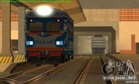 Aumento en el tráfico de trenes para GTA San Andreas segunda pantalla