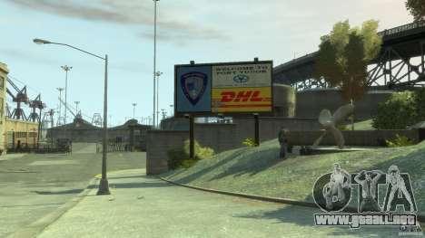 DHL-Port para GTA 4 segundos de pantalla