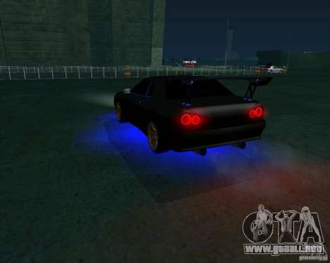 NEON mod para GTA San Andreas segunda pantalla