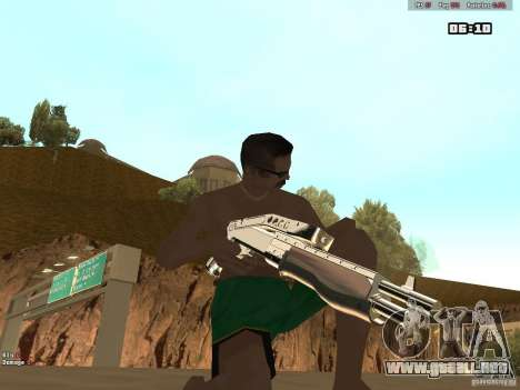Weapon Pack V1.0 para GTA San Andreas sucesivamente de pantalla