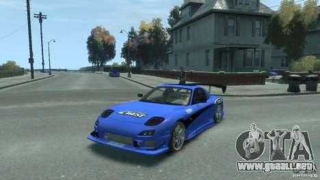 Mazda Rx7 C-WEST para GTA 4