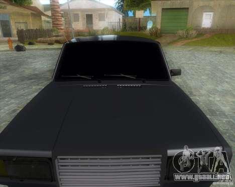 VAZ 2107 Drift Enablet Editional i3 para la visión correcta GTA San Andreas