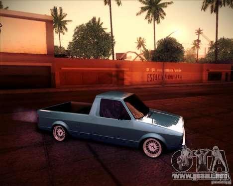 Volkswagen Caddy Custom 1980 para la visión correcta GTA San Andreas