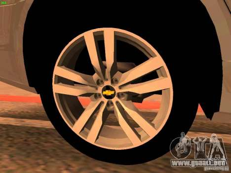 Chevrolet Lumina para vista lateral GTA San Andreas