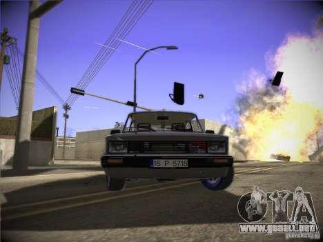 Tofas 124 Serçe para GTA San Andreas left