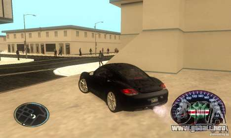 Chechen Speedometr para GTA San Andreas