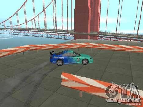 New Drift Track SF para GTA San Andreas séptima pantalla
