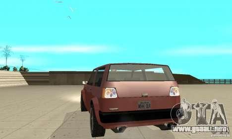 New lights and crash para GTA San Andreas