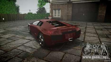 Lamborghini Murcielago v1.0b para GTA 4 vista lateral