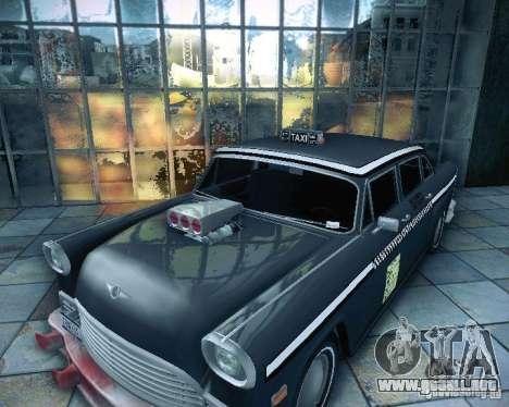 Diablo Cabbie HD para la visión correcta GTA San Andreas