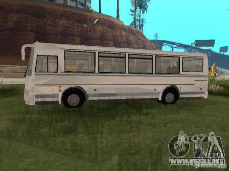 PAZ 4230 Aurora para GTA San Andreas vista posterior izquierda