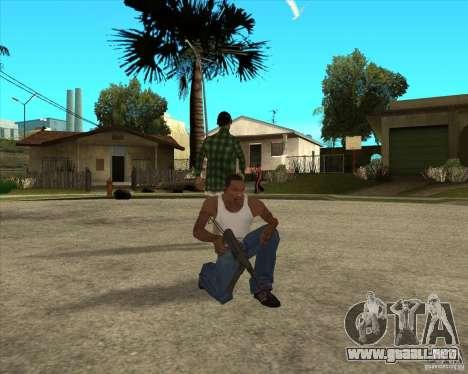 Armas de call of duty para GTA San Andreas quinta pantalla