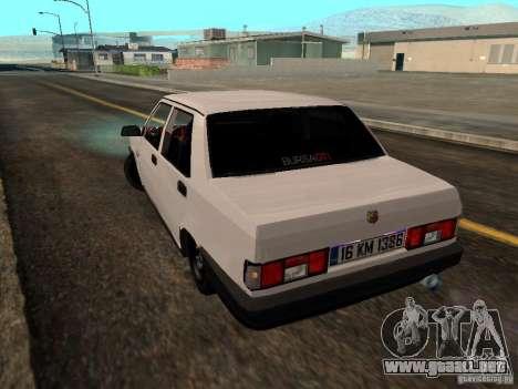 Tofas Sahin DRIFT para GTA San Andreas left