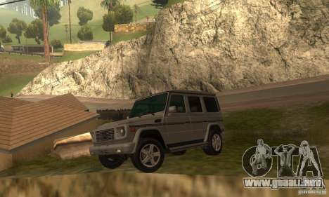 Mercedes-Benz G500 (W463) 2008 para GTA San Andreas left