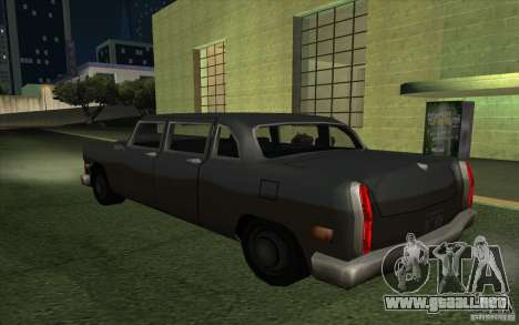 Civilian Cabbie para GTA San Andreas left