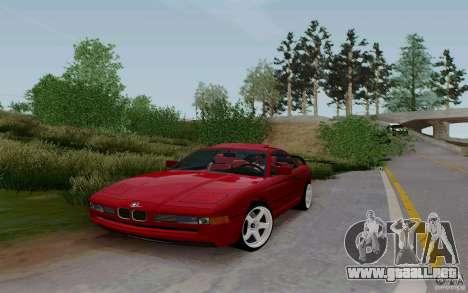 BMW 850i v2.0 Final para la visión correcta GTA San Andreas