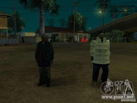 Nuevos aspectos de surco para GTA San Andreas tercera pantalla