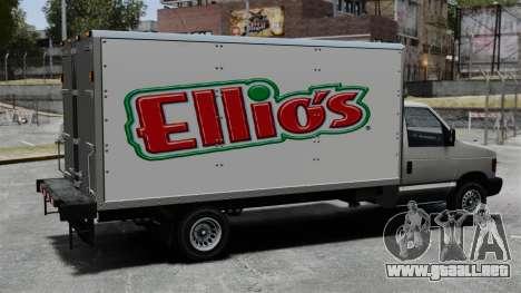 El nuevo anuncio para camiones Steed para GTA 4 vista interior