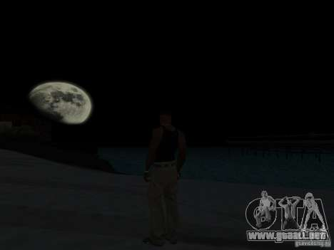 Realistic Night Mod para GTA San Andreas sucesivamente de pantalla