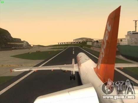 Airbus A320-214 EasyJet para el motor de GTA San Andreas