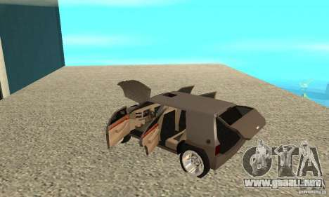 Jemala para visión interna GTA San Andreas