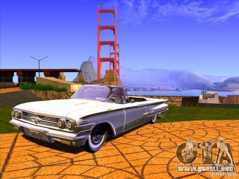 ENBSeries v2.0 para GTA San Andreas quinta pantalla