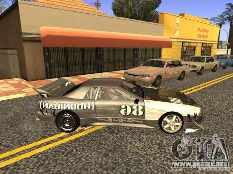 Elegy Drift Korch v2.1 para GTA San Andreas vista hacia atrás