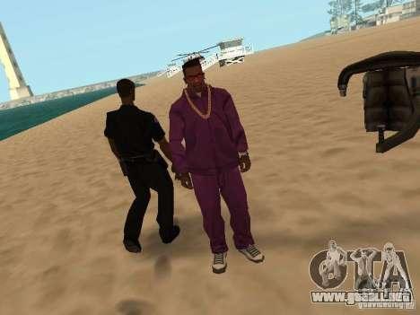 Tenpenny para GTA San Andreas quinta pantalla