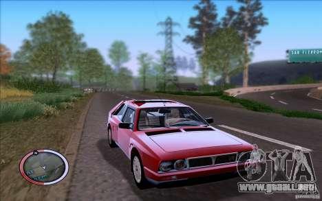 Lancia Delta S4 Stradale (SE038) para GTA San Andreas left