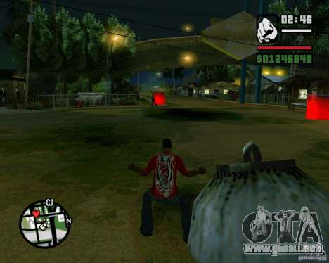 Wrecking ball para GTA San Andreas