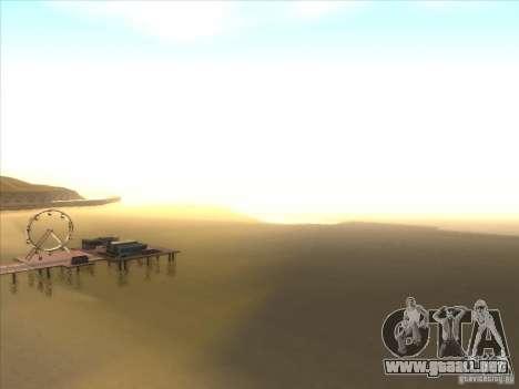 ENBSeries para PC media y débil para GTA San Andreas