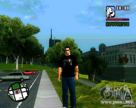 Camiseta AVP para GTA San Andreas
