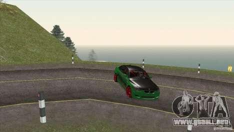 BMW M5 E60 Darius Balys para vista inferior GTA San Andreas
