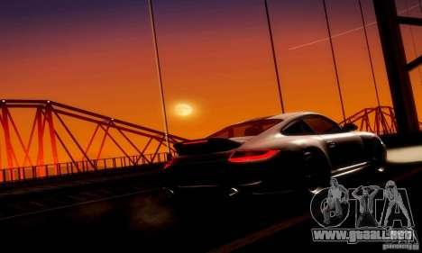 Porsche 911 Sport Classic para visión interna GTA San Andreas