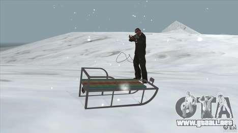 Trineo para la visión correcta GTA San Andreas
