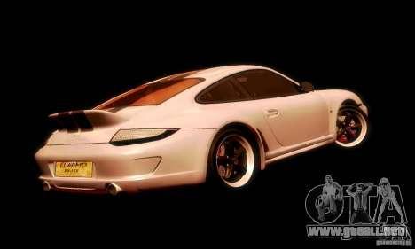 Porsche 911 Sport Classic para vista lateral GTA San Andreas