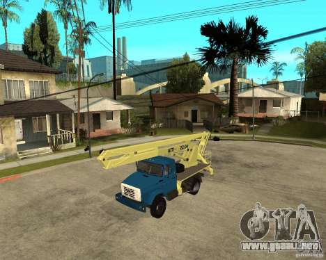 ZIL-433362 Extra Pack 1 para GTA San Andreas left
