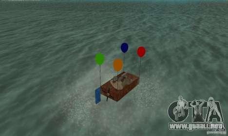 Ballooncraft para GTA San Andreas left