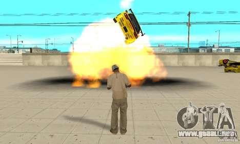 Capacidad sobrenatural de CJ-me para GTA San Andreas quinta pantalla