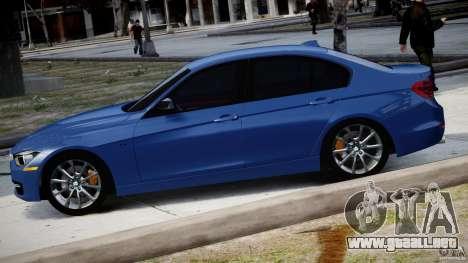 BMW 335i E30 2012 Sport Line v1.0 para GTA 4 left