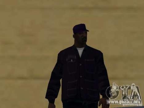 Nuevos aspectos Ballas para GTA San Andreas sexta pantalla